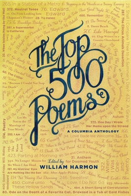 The Top 500 Poems (Columbia Anthologies) Cover Image