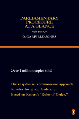 Parliamentary Procedure at a Glance: New Edition (Reference) Cover Image