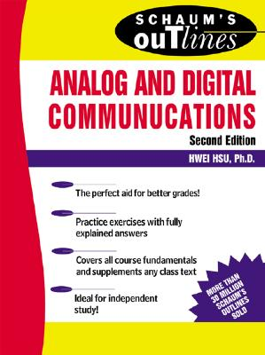 Cover for Schaum's Outline of Analog and Digital Communications (Schaum's Outlines)