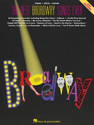 The Best Broadway Songs Ever (Best Ever) Cover Image