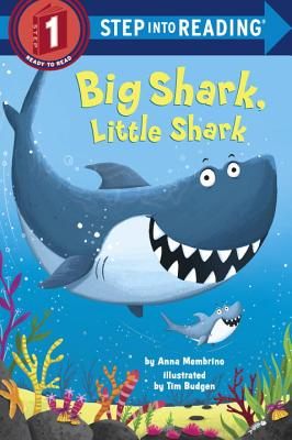 Big Shark, Little Shark (Step into Reading) Cover Image