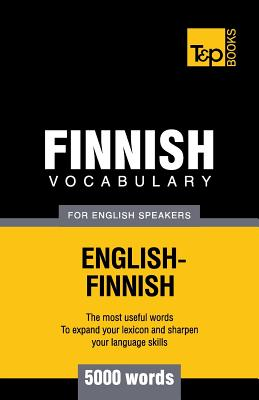 Finnish vocabulary for English speakers - 5000 words Cover Image