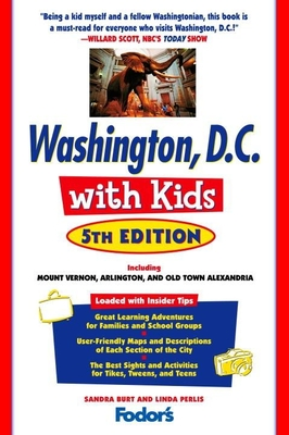 Fodor's Washington, D.C. with Kids, 5th Edition Cover