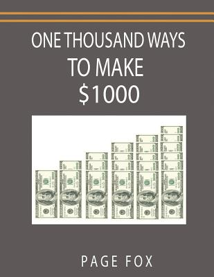 One Thousand Ways to Make $1000 Cover Image