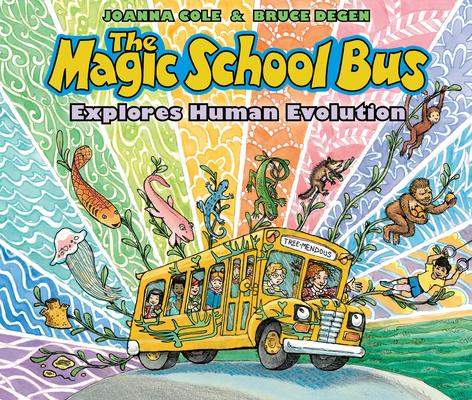 The Magic School Bus Explores Human Evolution Cover Image