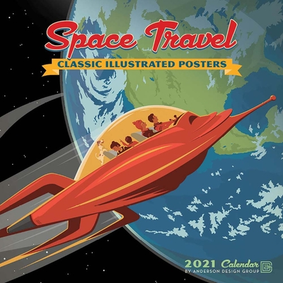 Cal 2021- Space Travel Wall Cover Image