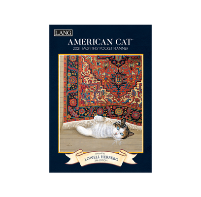 American Cat(tm) 2021 Monthly Pocket Planner Cover Image