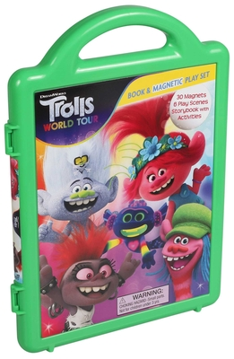 DreamWorks Trolls World Tour: Magnetic Playset (Magnetic Play Set) Cover Image