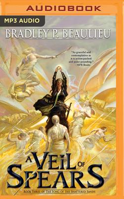 A Veil of Spears (Song of the Shattered Sands #3) Cover Image