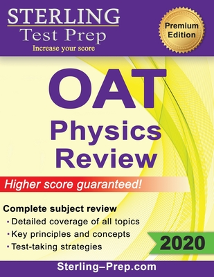 Sterling Test Prep OAT Physics Review: Complete Subject Review Cover Image
