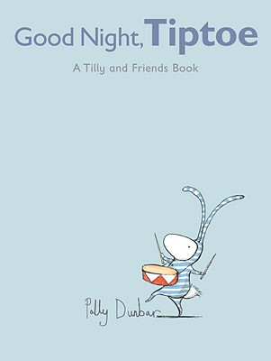 Good Night, Tiptoe: A Tilly and Friends Book Cover Image