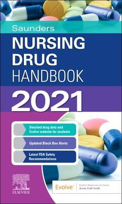 Saunders Nursing Drug Handbook 2021 Cover Image