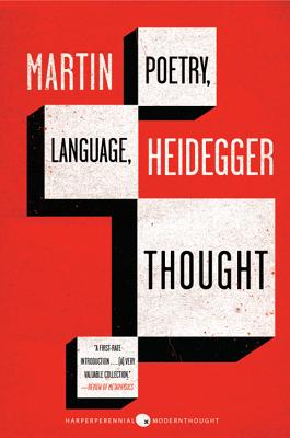 Poetry, Language, Thought Cover