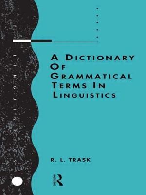 A Dictionary of Grammatical Terms in Linguistics Cover