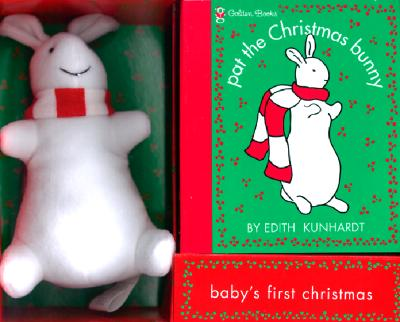 Christmas Book and Bunny [With Plush Bunny] Cover Image