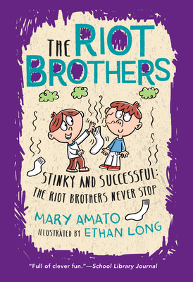 Cover for Stinky and Successful (The Riot Brothers #3)