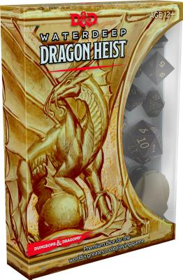 D&D Waterdeep Dragon Heist Dice (D&D Accessory) Cover Image