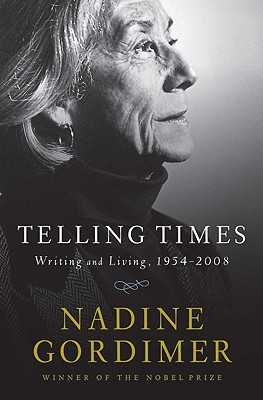 Telling Times: Writing and Living, 1954-2008 Cover Image