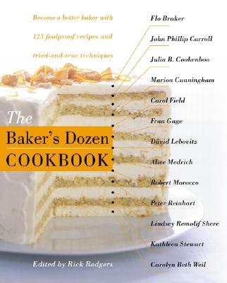 The Baker's Dozen Cookbook Cover