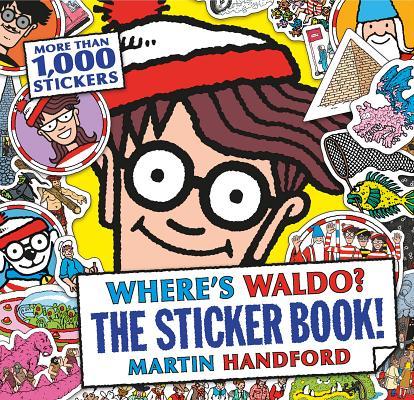 Where's Waldo? The Sticker Book! Cover Image