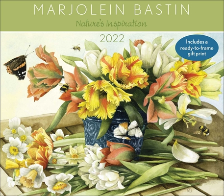 Marjolein Bastin Nature's Inspiration 2022 Deluxe Wall Calendar with Print Cover Image