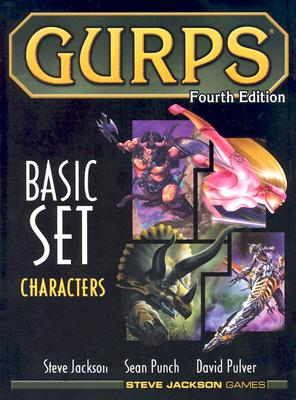 Gurps Basic Set: Characters (GURPS: Generic Universal Role Playing System) Cover Image