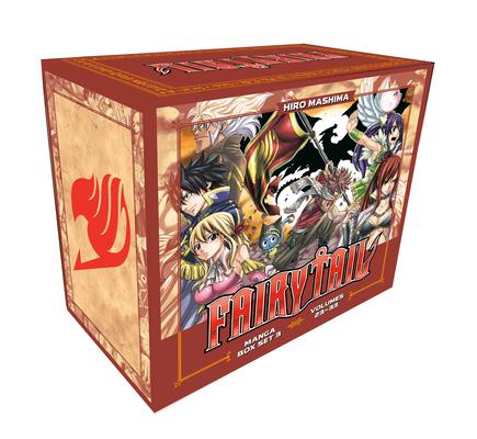FAIRY TAIL Manga Box Set 3 Cover Image
