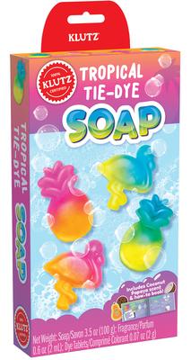 Mini Kits Tie-Dye Tropical Soaps Cover Image