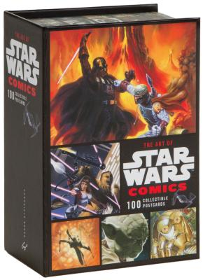 The Art of Star Wars Comics: 100 Collectible Postcards Cover Image