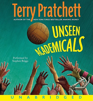 Unseen Academicals CD (Discworld #37) Cover Image