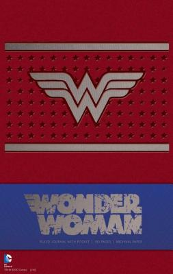 Cover for Wonder Woman Hardcover Ruled Journal (Comics)