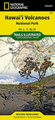 Hawaii Volcanoes National Park (National Geographic Maps: Trails Illustrated #230) Cover Image