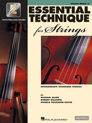 Essential Technique for Strings with Eei: Violin Cover Image