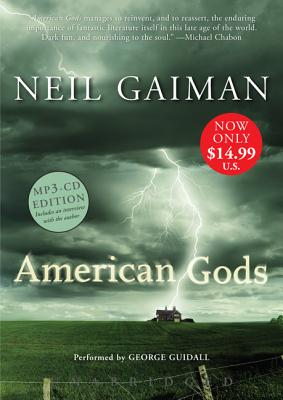 American Gods Low Price MP3 CD Cover Image