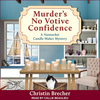 Murder's No Votive Confidence Lib/E Cover Image