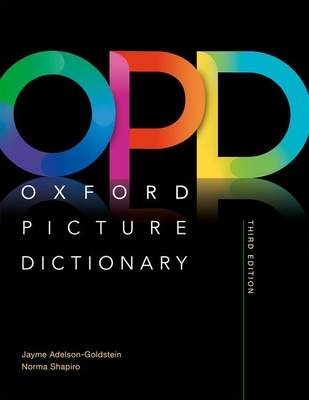 Oxford Picture Dictionary Third Edition: Monolingual Dictionary Cover Image