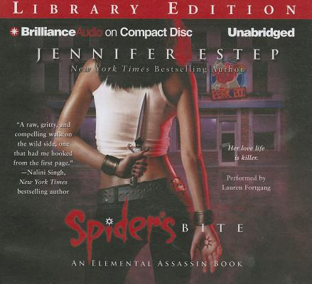 Spider's Bite (Elemental Assassin Books) Cover Image