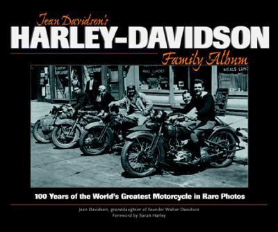 Cover for Jean Davidson's Harley-Davidson Family Album