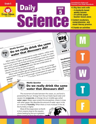 Daily Science, Grade 5 Cover Image