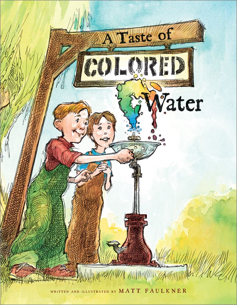 A Taste of Colored Water Cover