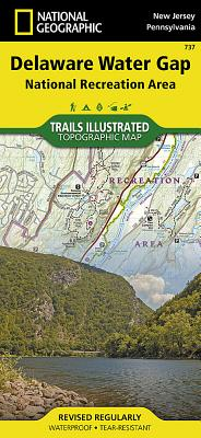 Delaware Water Gap National Recreation Area (National Geographic Trails Illustrated Map #737) Cover Image