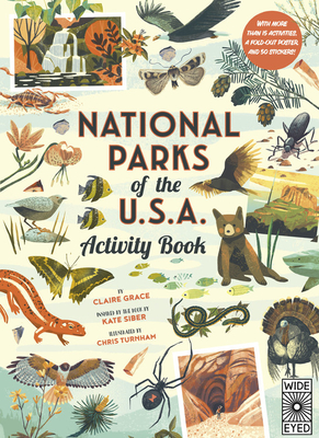 National Parks of the USA: Activity Book: With More Than 15 Activities, A Fold-out Poster, and 50 Stickers! Cover Image