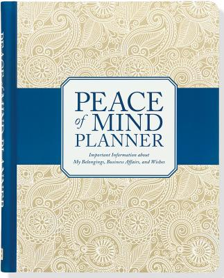 Peace of Mind Organizer Cover Image