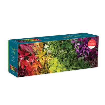 Plant Life 1000 Piece Panoramic Puzzle Cover Image