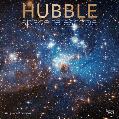 Hubble Space Telescope 2021 Square Foil Cover Image