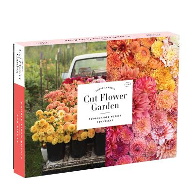 Floret Farm's Cut Flower Garden 2-sided 500 Piece Puzzle Cover Image
