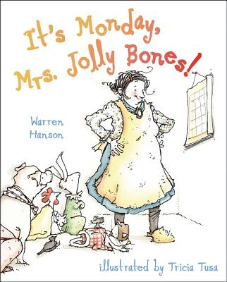 It's Monday, Mrs. Jolly Bones! Cover