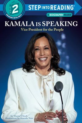 Kamala Is Speaking: Vice President for the People (Step into Reading) Cover Image