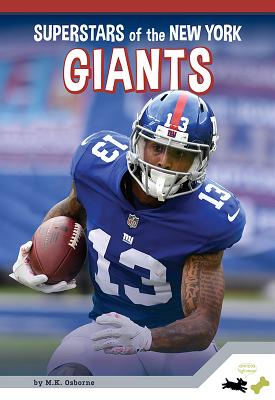 New York Giants (Pro Sports Superstars—NFL) Cover Image