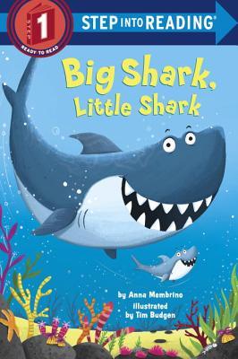 Big Shark, Little Shark (Step into Reading) Cover Image